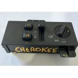 Botão Comando Farol De Milha Cherokee Original - B02